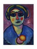 Dark Eyes, 1912 Giclee-trykk av Alexej Von Jawlensky