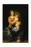 Madonna with Child Giclee Print by Bartolomé Estéban Murillo