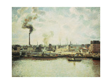 Saint-Sever Quay at Rouen, 1896 Giclee Print by  Canaletto