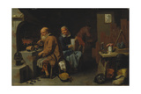 The Alchemist's Workshop, 1648 Giclee Print by David Ryckaert III