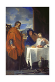 The Holy Family Posters by Charles Le Brun