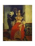 Jewish Bride, Marocco Giclee Print by Alfred Dehodencq