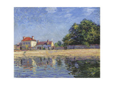 The Banks of the Loing, Saint-Mammes, 1885 Giclee Print by Alfred Sisley