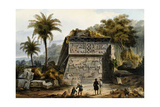 Ruins of the Pyramid of Xochicalco (Ruinas De La Piramide De Xochicalco) Giclee Print by Carl Morgenstern