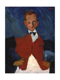 The Waiter, (Le Garcon D'Étage), Between 1922 and 1928 Giclee Print by Chaim Soutine