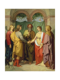The Marriage of Tobias with Sarah, 1842 Giclee Print by Eduard Ihlée