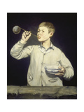 Boy Blowing Bubbles, 1867 Posters by Edouard Manet