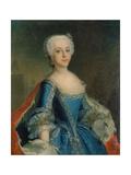 Katharina II, Als Prinzessin Giclee Print by Anna Rosina Lisiewska