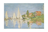 Regatta at Argenteuil, C. 1872 Giclee Print by Claude Monet