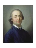 Portrait of Johann Gottfried Von Herder (1744-1803), 1785 Giclée-tryk af Anton Graff