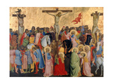 Crucifixion-Scene Giclee Print by Agnolo Gaddi