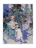 Lady with Guitar in the Garden (Crimea), 1916 Giclee Print by Alexejew Konstantin Korovin