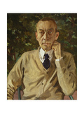 Portrait of the Composer Rachmaninow, C. 1925 Giclee Print by Konstantin Somow