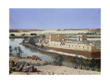 Philae, Island in the Nile River (Nubia/Egypt) 1885 Giclee Print by Ernest Vermeulen