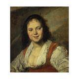 Gypsy Woman Giclee Print by Frans Hals