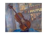The Violin, 1918 Giclee Print by Kosjma Ssergej Petroff-Wodkin