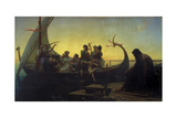 Lost Illusions, or Evening, 1843 Giclee Print by Marc Charles Gabriel Gleyre