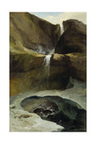 The Geltenbachfall in Winter, 1778 Giclee Print by Caspar Wolf