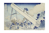 In the Totomi Mountains', from the Series 'Thirty Six Views of Mount Fuji' Prints by Katsushika Hokusai
