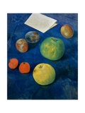 Still Life with Fruits Giclee Print by Kosjma Ssergej Petroff-Wodkin