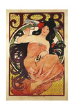 Job', 1898, Printed by F, Champenois Giclee Print by Alphonse Mucha