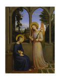 The Annunciation, 1828 Giclee Print by Johann von Schraudolph