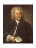 Johann Sebastian Bach Giclee Print by Elias Gottlob Haussmann