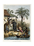 Costumes of Bahia, from 'Picturesque Voyage to Brazil', Published, 1835 Giclee Print by Johann Moritz Rugendas