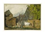 Schriesheim, 1813-1814 Giclee Print by Karl Philipp Fohr
