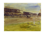 Horse Racing Track in Ruhleben, 1920 Prints by Max Slevogt