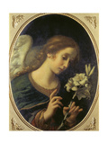 Angel of the Annunciation Giclée-tryk af Carlo Dolci