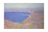 Setting Sun at Dieppe, 1897 Giclee Print by Claude Monet
