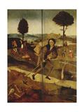 The Prodigal Son, Aussenseiten Der Fluegel Zum Heuwagen Giclee Print by Hieronymus Bosch