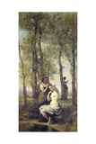 Young Woman at Her Toilet Giclee Print by Jean-Baptiste-Camille Corot