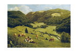 The Valley Near Sankt Blasien, 1882 Giclee Print by Hans Thoma