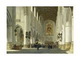 Inneres Der St.Bavo-Kirche in Haarlem, 1665 Giclee Print by Job Adriaensz Berckheyde