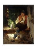 A Tavern Scene, 1875 Giclee Print by Hugo Kauffmann