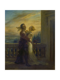 Romeo and Juliet, 1845 Giclee Print by Eugène Delacroix