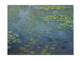 Pond with Water Lilies Giclee Print by Claude Monet