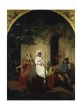 Fairy-Tale Scene, C. 1860 Giclée-Druck von Edward Jakob Von Steinle