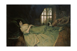 Julia Capulet, the Wedding Day Morning, 1874 Giclée-Druck von Gabriel Von Max