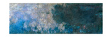 Nymphéas, Paneel a II Giclee Print by Claude Monet