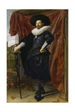 Portrait of Willem Van Heythuisen, Ca. 1625 Giclee Print by Frans Hals
