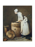 The Scullery Maid, 1738 Giclee Print by Jean-Baptiste Simeon Chardin