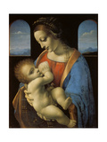 The Litta Madonna, C. 1490 Giclee Print by  Leonardo da Vinci