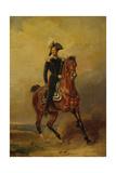 Tsar Nicholas on Horseback Giclee Print by Franz Krüger