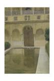 Patio De La Alberca, Granada, 1917 Giclee Print by Joaquin Sorolla