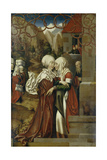 The Visitation, 1512 Giclee Print by Hans Fries