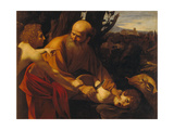 The Sacrifice of Isaac Posters by  Caravaggio