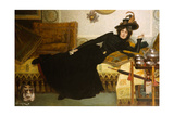 A Elegant Lady Giclee Print by Hippolyte-casimir Gourse